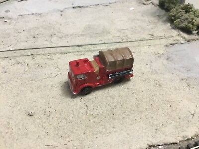 N ScaleMack MB model canopy cab w covered bed fire truck resin cast handpaint  for sale  Concord