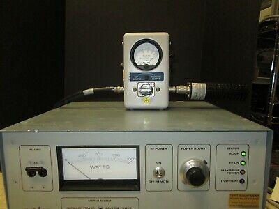 Bird Trueline 4431 Rf Power Meter With 25-60 Mhz Slugs Tested Read
