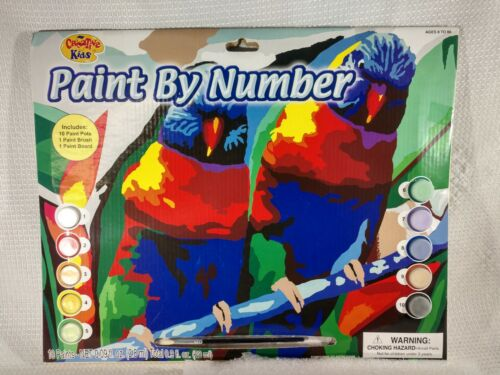 NEW  Paint By Number Craft Kit Set Painting Arts Creative Kids