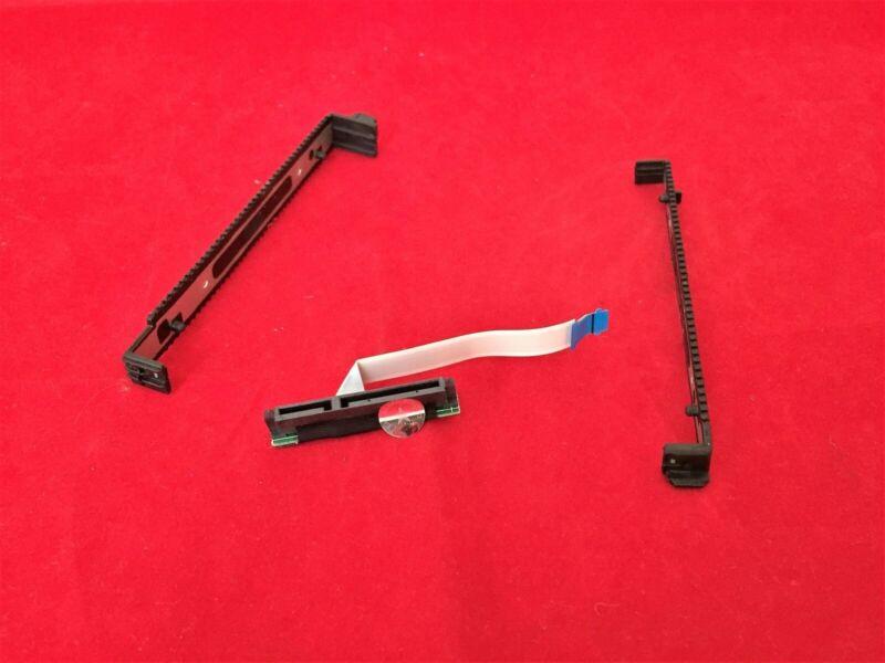 """HP 17.3"""" 17-G 17-g121wm 17-g141dx Hard Drive Caddy w/ SATA Connector DD0X18HD031"""