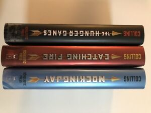 Complete series of Suzanne Collins Hunger Games