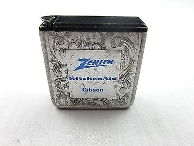 Vintage PARK AVENUE Advertising Tape Measure ZENITH Kitchen Aid GIBSON GUITAR