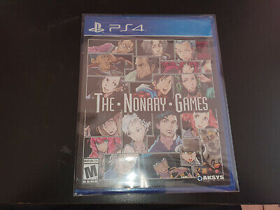 The nonary games - American English - Ps4 Brand new - Neuf