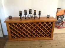 Wine rack,timber,side table,furniture, Waratah Newcastle Area Preview