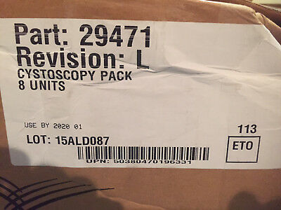 8x Cardinal Health 29471 Convertors Cystoscopy Pack W Smartgown Surgical Drape