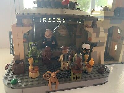 Lego Star Wars Jabba's Palace (9516) Missing B'Omarr Monk And Few Other Pieces
