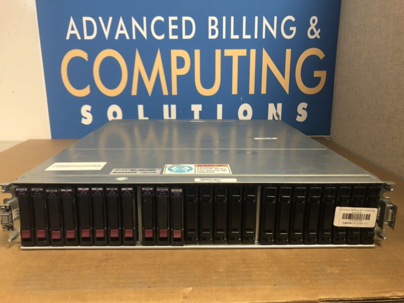 "HPE AW594B P2000 G3 SAS MSA Dual Storage Controller 24x 2.5"" SFF Array System"