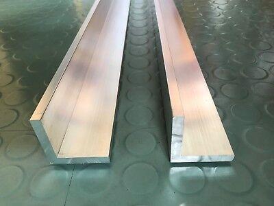 Aluprofil L Winkelprofil - AlMgSi0,5 - 50 x 50 x 8 mm - Länge 1350 mm - 2 Stück