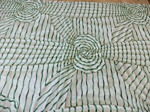 """RARE COWTAN & TOUT """"MAGIQUE """" VINTAGE 1984 - Printed Cotton Fabric / NEW ."""
