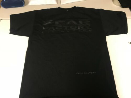 Fear Factory New XL Digimortal 2001 Shirt Licensed Real Authentic Blue Grape