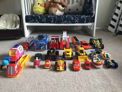 Heaps of toy cars