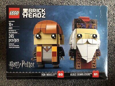 Lego BrickHeadz Ron Weasley Professor Albus Dumbledore (41621) Harry Potter