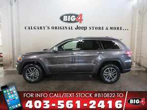 2017 Jeep Grand Cherokee Limited   Leather   Remote Start