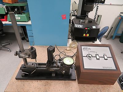 Precision Gage Vari-roll Vari-pc C2 Vr-100 Gear Measuring System Tester Ms22