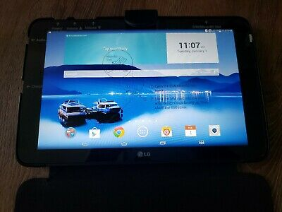 LG G Pad VK700 16GB, Wi-Fi  4G (Verizon), 10.1in - Black - Leather Case Included