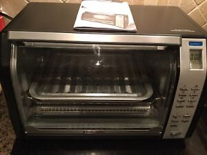 Black and Decker counter convection toaster oven