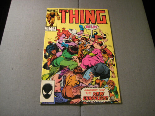 The THING #33 (Double Cover) (1986, Marvel)