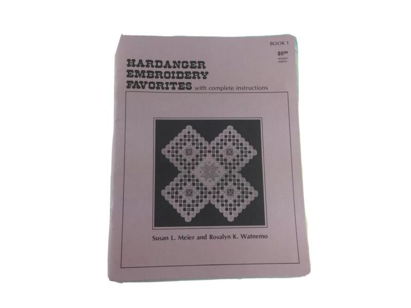 Hardanger Embroidery Favorites Pattern Book With Instructions