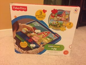 Fisher Price Little People Interactive Electronic Puzzle System