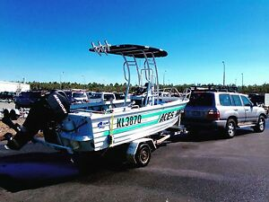 Quintrex pro fish ally centre console 60HP 4stroke, only 90 hrs Maroochydore Maroochydore Area Preview