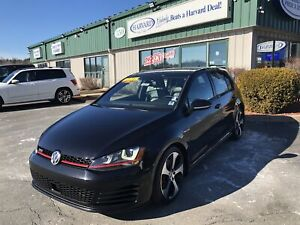 2015 Volkswagen Golf GTI 5-Door Autobahn CLEAN CARFAX/FENDER...