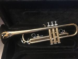 Academy trumpet with case