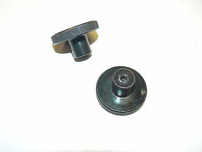Solid Brass Knurled Thumb Knob X 1032 Thread - Lot Of 10 Pcs.