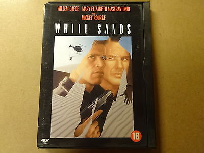 DVD / WHITE SANDS ( WILLEM DAFOE, MICKEY ROURKE... )