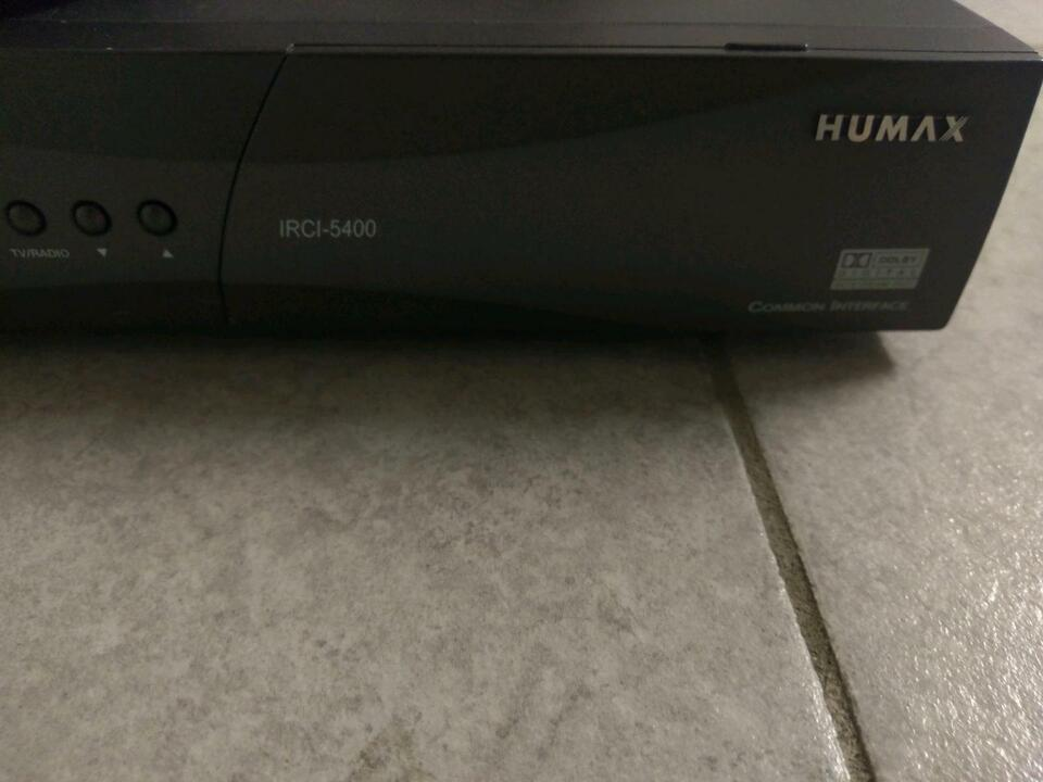Humax IRCI 5400 mit Fernbedienung Netzteil defekt in Duisburg - Hamborn