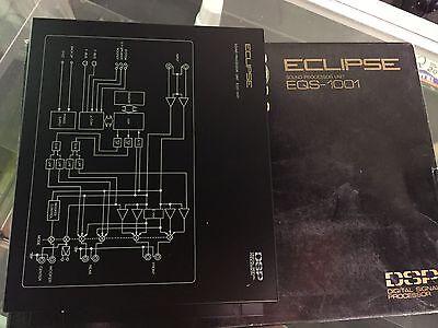 Eclipse Eqs 1001 Sound Processor Digital Signal Crossover