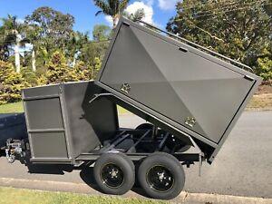 New2.0t RamTipper MowerTrailer Front/Rear/Side/Box's AuBuilt