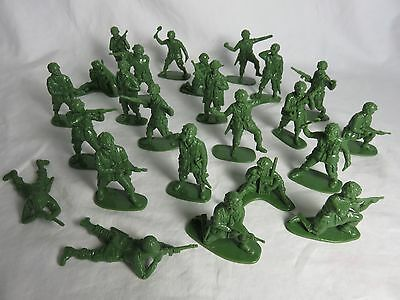 AIRFIX WWII U.S. Paratrooper Toy Soldiers - COPIES - (54MM) 24 in 12 Poses - NEW