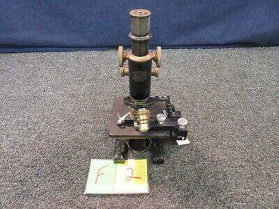 Spencer American Optical Ao Antique Microscope 98593 2 Objective 1.25x Usa