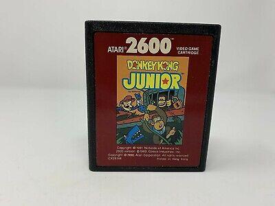 Donkey Kong Junior Jr Red Label  - Atari 2600 - Game Cart only - VINTAGE