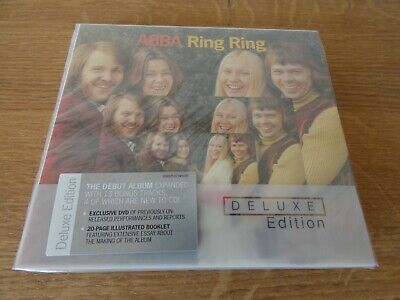 ABBA - RING RING De Luxe edition New and Sealed CD and DVD Extra tracks
