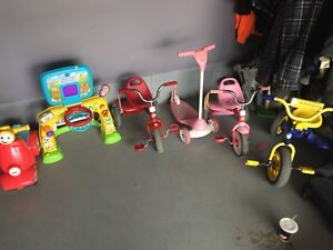 Bikes, scooters and toy