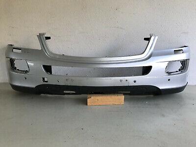 Mercedes ML W164 Stoßstange vorne, silber, Kratzer vo. re., PDC, vor Mopf