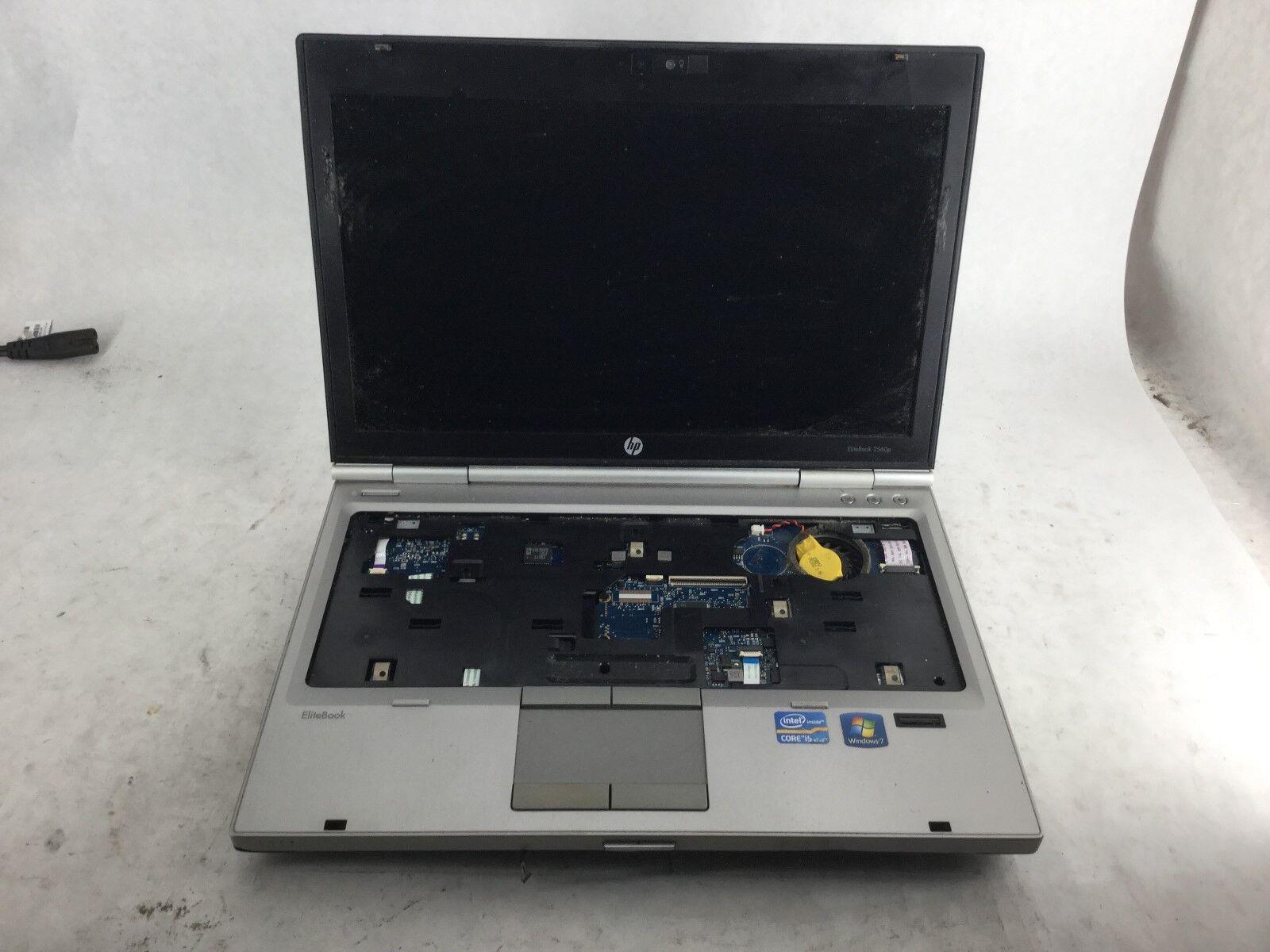 HP EliteBook 2560p Laptop Computer *BARE BONES - PARTS ONLY* -CZ