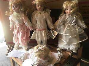 4 Collectable dolls. Brighton Bayside Area Preview