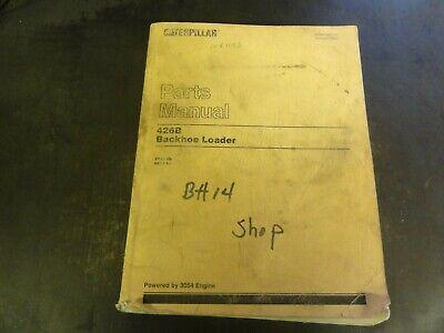 Caterpillar Cat 426b Backhoe Loader Parts Manual  Sebp1981-01