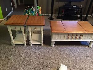 Real Wood Coffee and End Tables