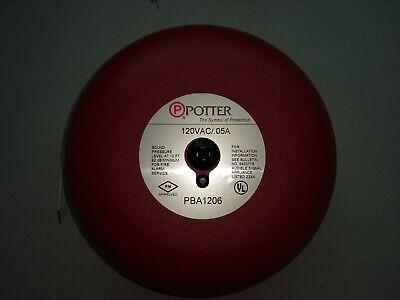Potter Pba-1206 Fire Alarm Bell
