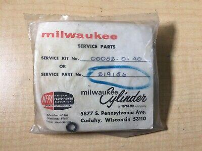 Milwaukee Hydraulic Cylinder Service Rebuild Kit 00052-0-40 219156 New M6