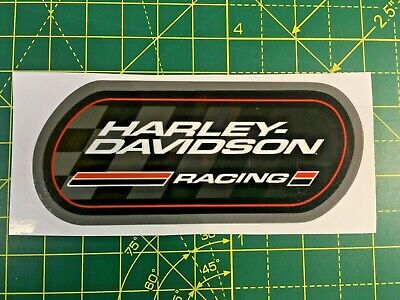 Harley Davidson racing decals, logos,stickers. x 2