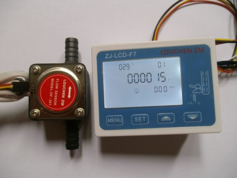 Liquid Fuel Oil Flow meter with 13mm diesel gasoline Gear flow sensor NEW