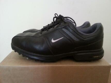 Boy Girl Shoes Nike Golf Junior Size 9-10 Black Paradise Point Gold Coast North Preview