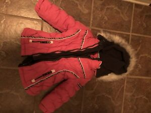 Manteau d'hivers propre 3 en 1 grandeur 5 ans