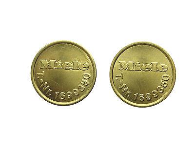 100 Stück original Miele Wertmarken T.- Nr. 1699350 Neu