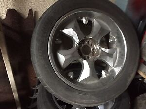 """Ford 20 """" rims 285 tyre worn Shortland Newcastle Area Preview"""