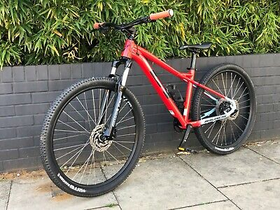 Boys Avalanche GT Mountain Bike size small 27.5 wheels colour RED